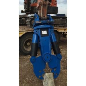 Pince de démolition rotative DHP1400 pour pelle de 14 T à 25 T
