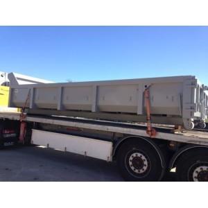 BENNE POLYBENNE GRAVATS CLASSE 2  L 6000 x lg 2300 x ht 750mm