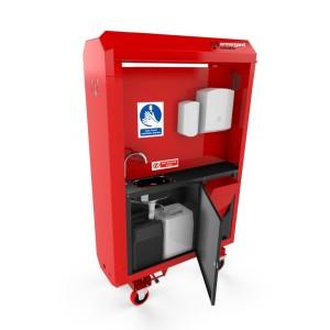 Système mobile de lavage des mains SANISTATION