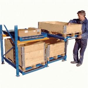 Stockage à tiroirs, tiroirs à palettes jusqu'a 1000Kg par tiroir