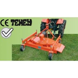 Tondeuse arrière 120 cm éjection latérale avec hauteur de coupe réglable pour micro tracteur