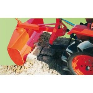 Lame niveleuse arrière 120 cm pour micro tracteur