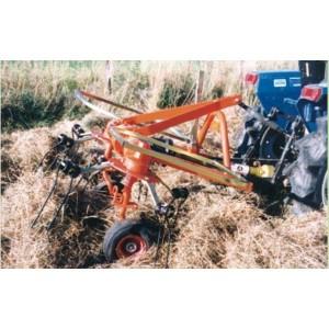 Pirouette sur micro tracteur