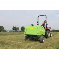 Rotopresse pour micro tracteur