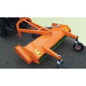 Balayeuse arrière pour micro tracteur