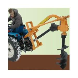 Tarière axiale pour micro tracteur