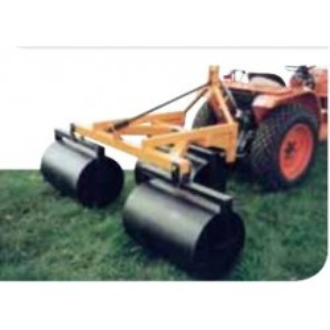 Rouleau à gazon pour micro tracteur