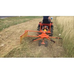 Andaineuse pour micro tracteur