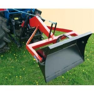 Chargeur arrière pour micro tracteur