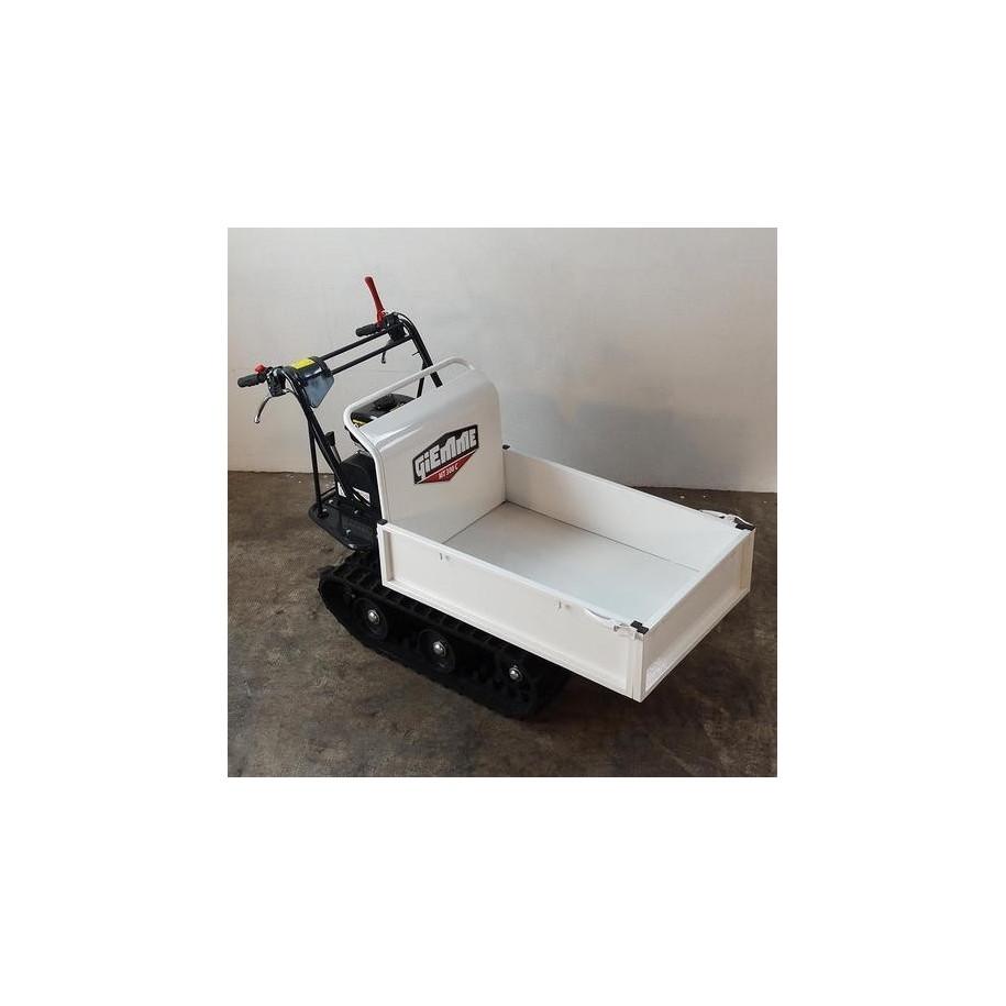 Mini transporteur essence à basculement manuel