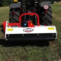 Broyeur fixe à déport hydraulique pour tracteur de 40 Chevaux à 70 Chevaux
