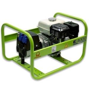 Groupe électrogène monophasé essence E4000 PRAMAC