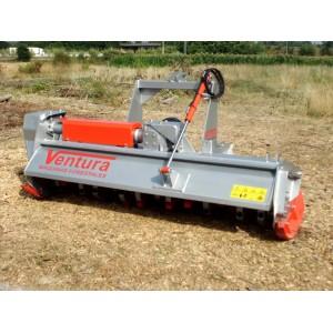 Broyeur forestier à marteaux oscillants à 360° pour tracteurs de 40 à 130 cv