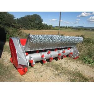 Broyeur forestier de pierres et fraiseuse pour tracteur de 180 à 260 Cv