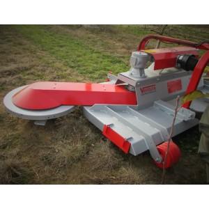 Broyeur forestier à marteaux fixes en widia pour tracteurs de 40 à 130 cv