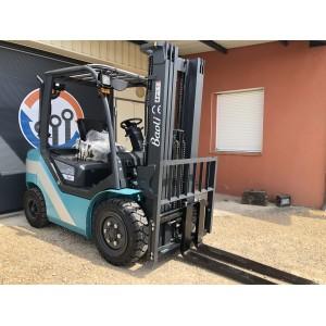 Chariot élévateur frontal DIESEL 4 roues 2.5 - 3 - 3.5T